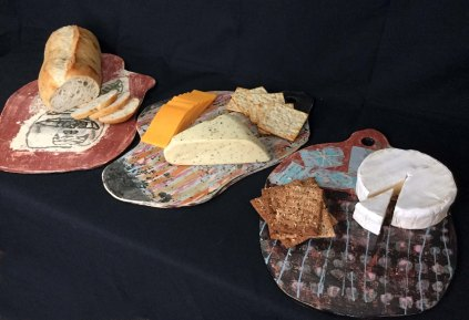 Ceramic Cheese Boards are a fantastic host/ess gift.